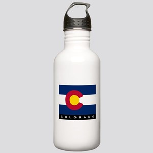 Colorado State Flag Stainless Water Bottle 1.0L
