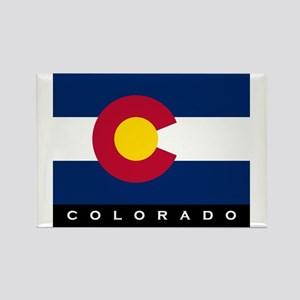 Colorado State Flag Rectangle Magnet