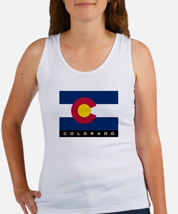 Colorado State Flag Women's Tank Top