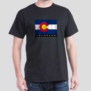 Colorado State Flag Dark T-Shirt