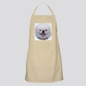 A Face02 Doggy Smile Apron