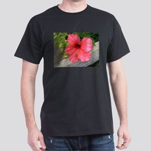 Bermuda Flower Black T-Shirt