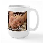 'True Strength' Large Mug