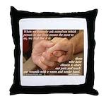 'True Strength' Throw Pillow