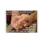 'True Strength' Rectangle Magnet (10 pack)