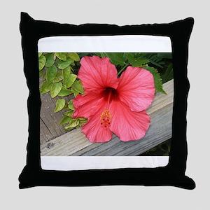 Bermuda Flower Throw Pillow