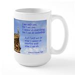 'I Can Do' Large Mug