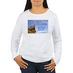 'I Can Do' Women's Long Sleeve T-Shirt