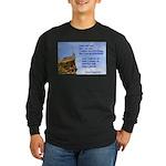 'I Can Do' Long Sleeve Dark T-Shirt