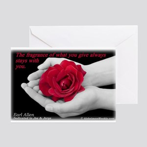'Give' Greeting Card
