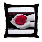 'Give' Throw Pillow