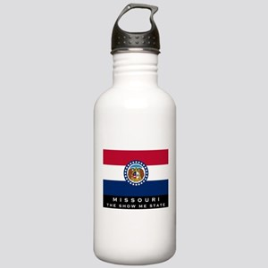 Missouri State Flag Stainless Water Bottle 1.0L