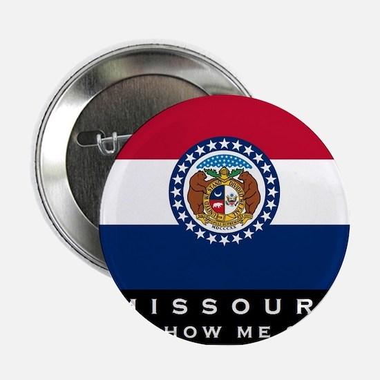 "Missouri State Flag 2.25"" Button"
