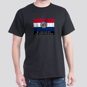 Missouri State Flag Dark T-Shirt