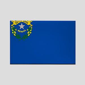 Nevada State Flag Rectangle Magnet