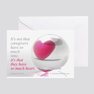 'So Much Heart' Greeting Card