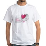 'So Much Heart' White T-Shirt