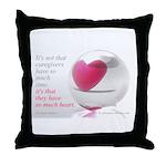 'So Much Heart' Throw Pillow