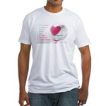 'So Much Heart' Fitted T-Shirt