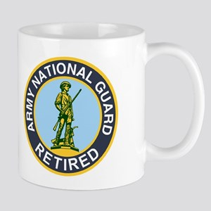 National Guard Retired<BR> 11 Ounce Mug 2