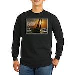 'Sale' Long Sleeve Dark T-Shirt