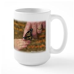 'Butterfly' Large Mug