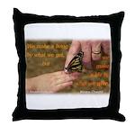'Butterfly' Throw Pillow