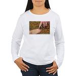 'Butterfly' Women's Long Sleeve T-Shirt