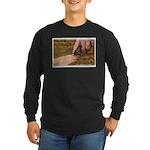 'Butterfly' Long Sleeve Dark T-Shirt