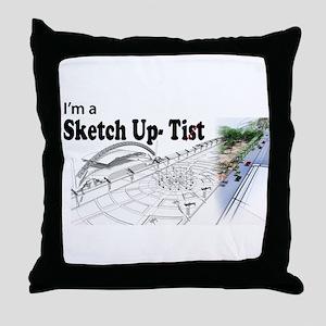 Not A 3D animator Throw Pillow