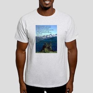 Psalm 23 Ash Grey T-Shirt