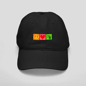 Peace Love Michigan Black Cap