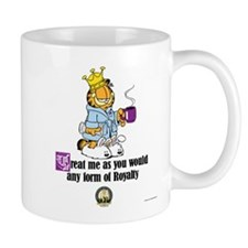 CFA Logo & Garfield Royalty Mug
