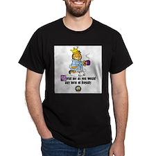 CFA Logo & Garfield Royalty Dark T-Shirt