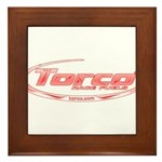Torco pinstripe small Framed Tile