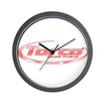 Torco pinstripe small Wall Clock