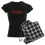 Torco pinstripe small Women's Dark Pajamas