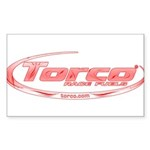 Torco pinstripe small Sticker (Rectangle 50 pk)