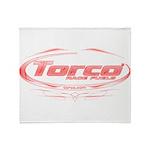 Torco pinstripe medium Throw Blanket