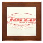 Torco pinstripe medium Framed Tile