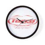 Torco pinstripe medium Wall Clock