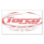 Torco pinstripe medium Sticker (Rectangle 50 pk)