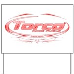 Torco pinstripe medium Yard Sign