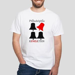 REVOLUTION White T-Shirt