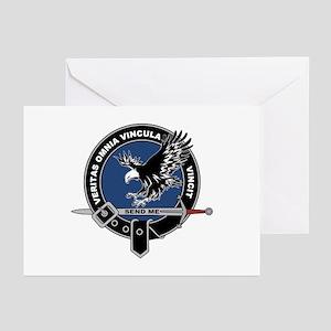 SAD Unit Crest Greeting Cards (Pk of 10)