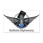 Ballistic Diplomacy 20x12 Wall Decal