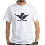 Ballistic Diplomacy White T-Shirt