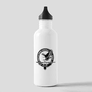 SAD Unit Crest B-W Stainless Water Bottle 1.0L