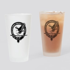 SAD Unit Crest B-W Drinking Glass