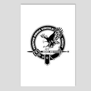 SAD Unit Crest B-W Postcards (Package of 8)
